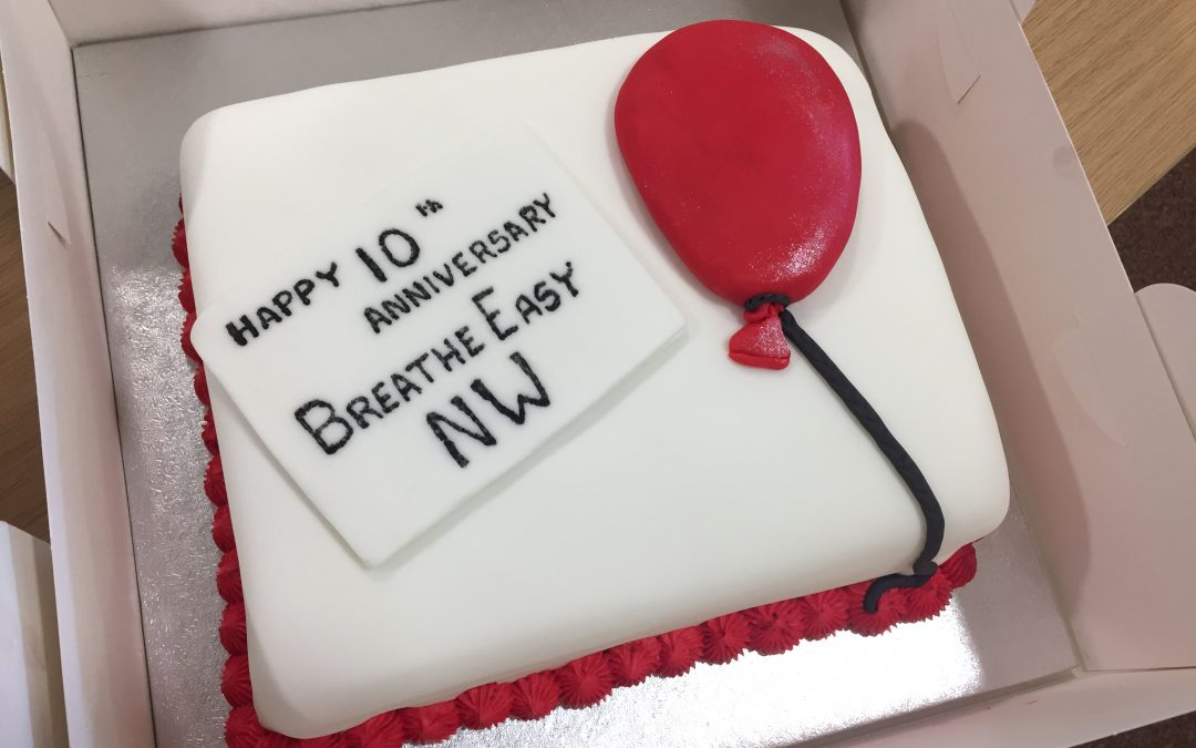 Breathe Easy Nottingham Celebrated its 10th Anniversay